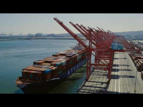 Hyundai Merchant Marine returns to the Port of Long Beach