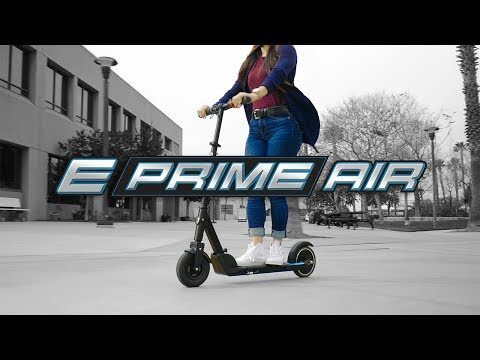Razor E Prime Air Electric Scooter Ride Video With Features
