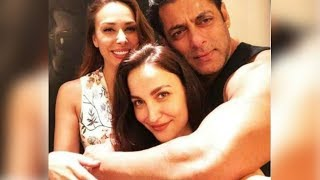 Elli AvrRam Posts Pic With Salman Khan And His GF Iulia Vantur, Later Deletes It