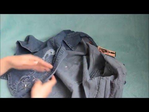 Джинсовая рубашка женская Women's Denim Shirt
