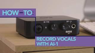 Як записати вокал з РДЕ АІ-1