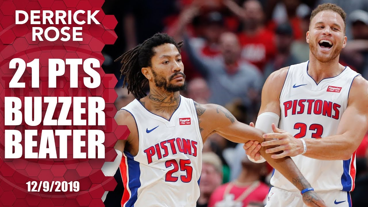 Derrick Rose Has Elevated His Game For The Detroit Pistons