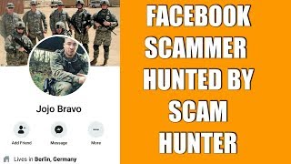 FACEBOOK SCAMMERS HUNTED BY SCAM HUNTER