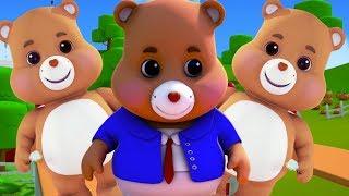 osos de peluche | canciones para niños | canciones infantiles | españolas rimas | Teddy Bears