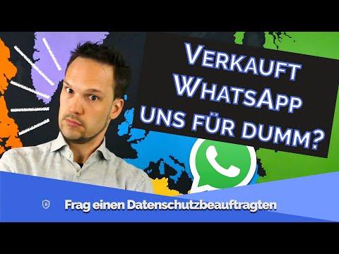 Was Du über die WhatsApp Datenschutzänderungen wirklich wissen solltest! Echt, ernsthaft! | #FDSB