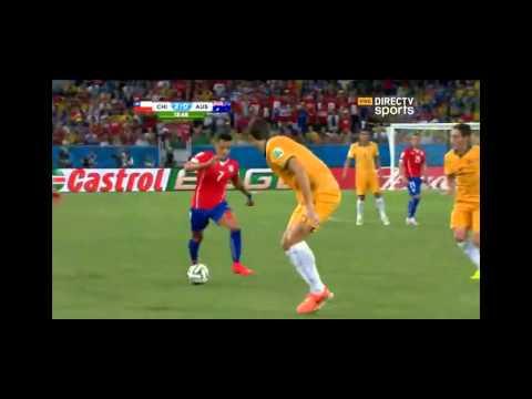 Chile 3 - 1 Australia  Mundial Brasil 2014 - Directv sports