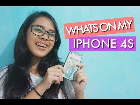 Whats On My iPhone 4s | ItsMyka