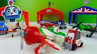 Aviones 4 Packs de Dusty, El Chupacabra, Ripslinger y Bulldog - Juguetes de Aviones