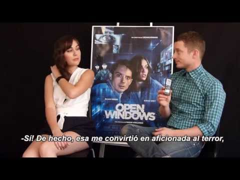 "Entrevista a Sasha Grey y Elijah Wood por ""Open Windows"""