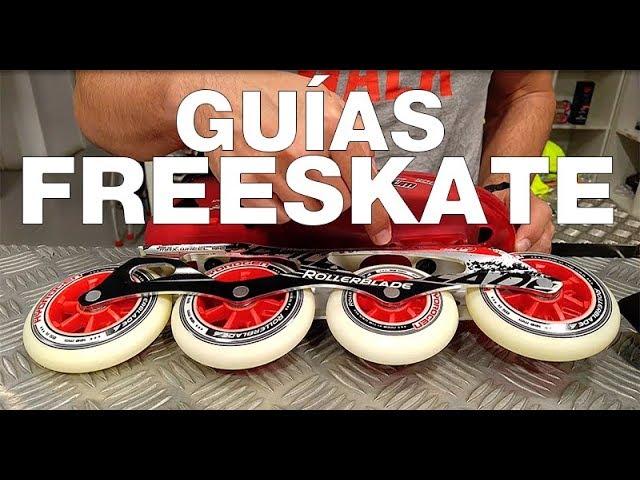 FreeWheeling 4-Pack Ruedas para Patines en l/ínea Race 100mm 1117388