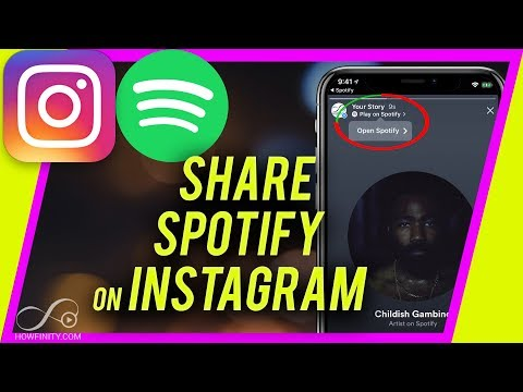 How to Share SPOTIFY songs on Instagram Story Mp3