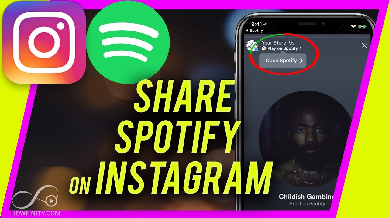 play on spotify instagram
