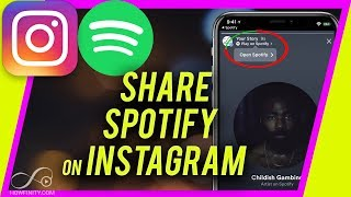 How To Share Spotify Songs On Instagram Story Youtube