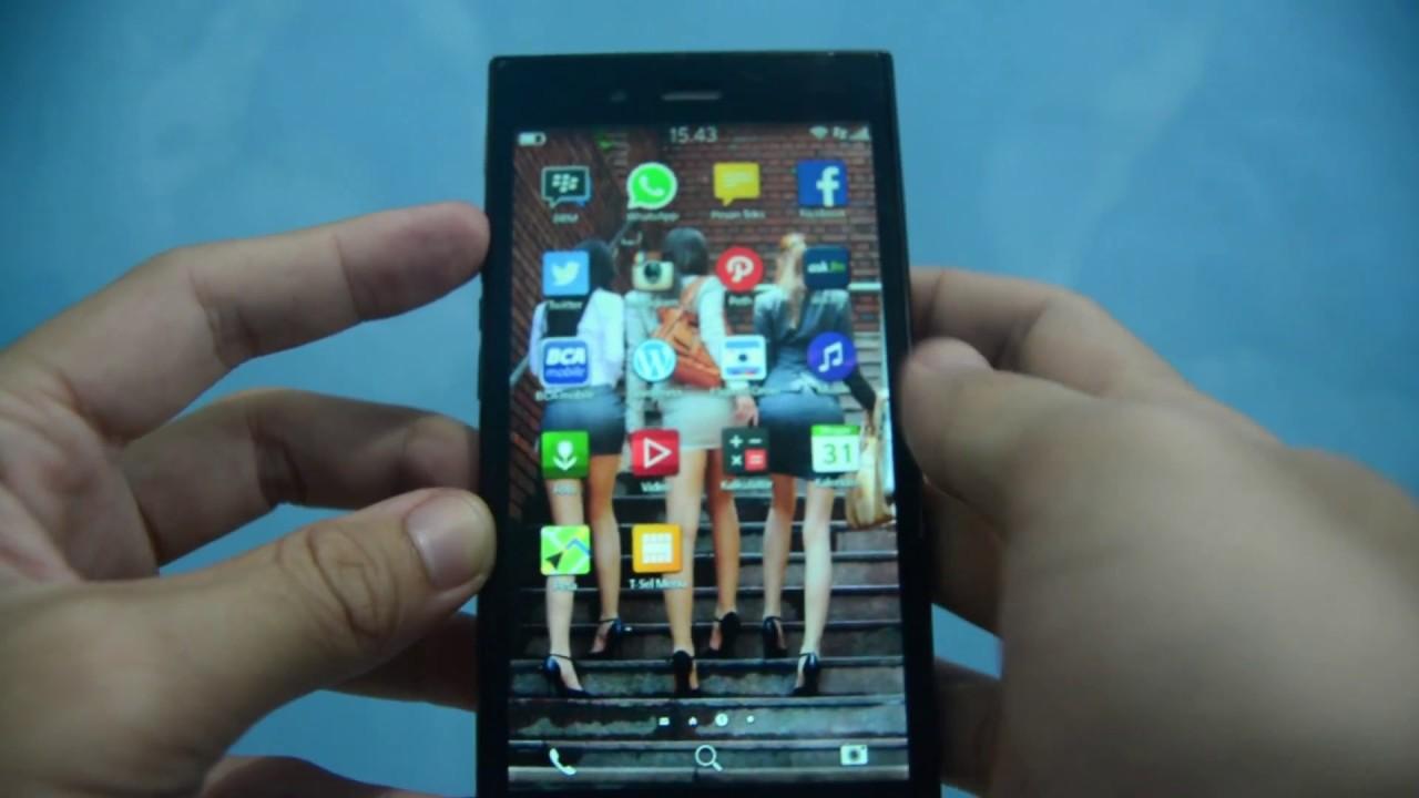 Cara Keluar Aplikasi Di Blackberry Z3 Z10 Os10 Youtube