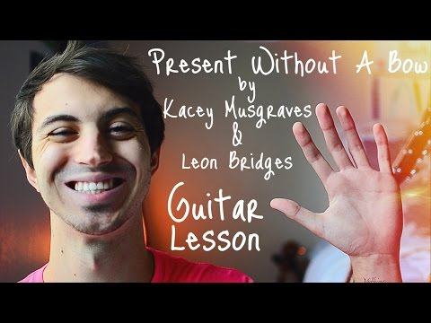 present-without-a-bow-(feat.-leon-bridges)-by-kacey-musgraves-guitar-tutorial-//-christmas-guitar!