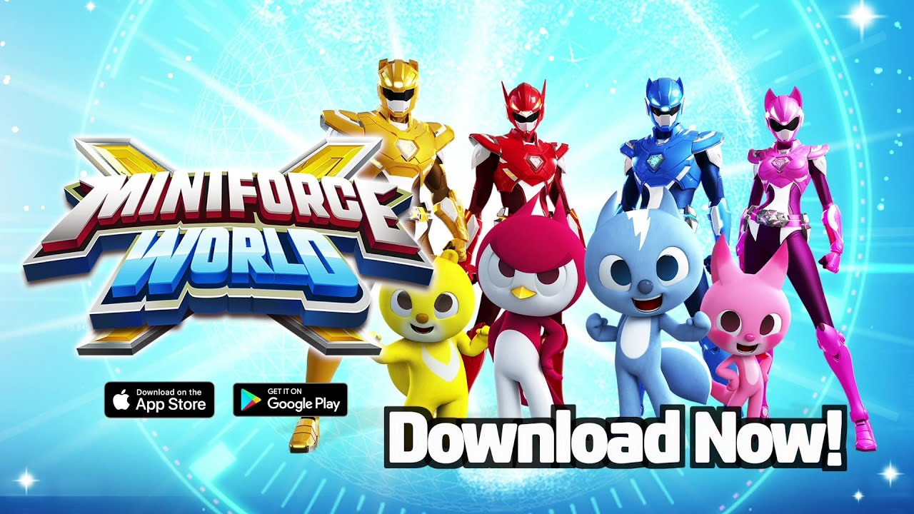 Official Miniforce Mobile Game released! – Официальный релиз игры МИНИФОРС