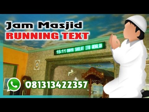 Jam Jadwal Sholat Masjid - Surabaya Sidoarjo 081231548079