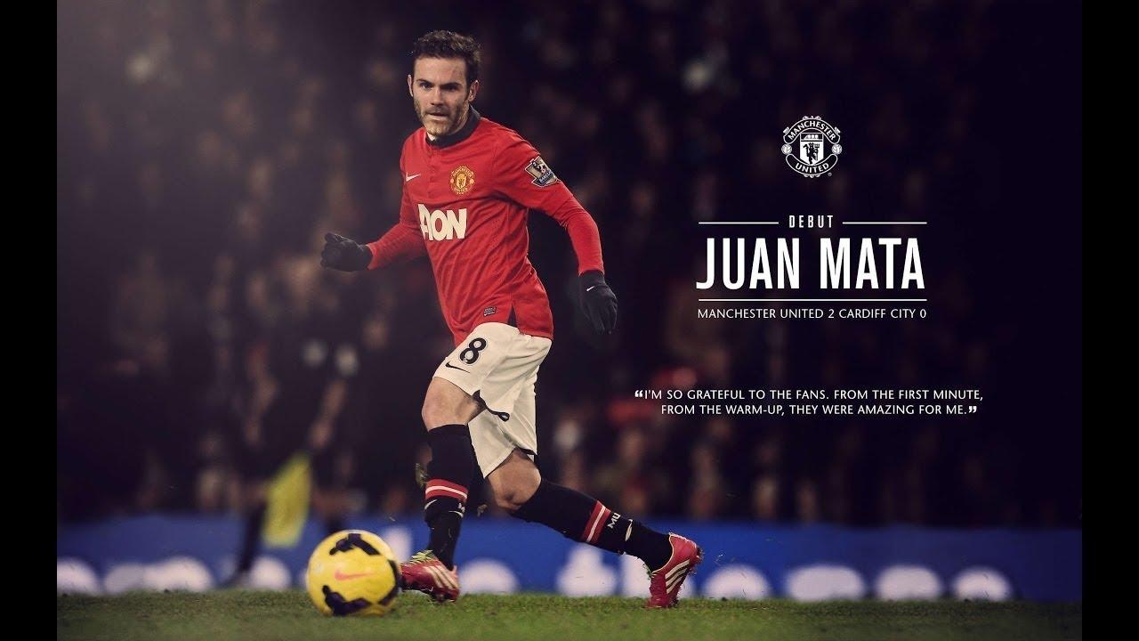 أجمل أهداف و مهارات Ø ÙˆØ§Ù† ماتا مع مانشستر يونايتد Juan Mata