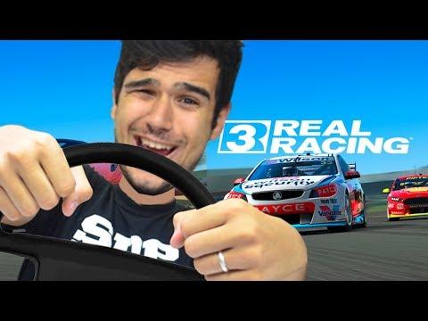 O MELHOR JOGO DE CORRIDA PRA CELULAR!! - Real Racing 3