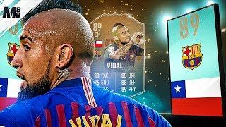 FIFA 19 FLASHBACK VIDAL REVIEW | 89 FLASHBACK VIDAL PLAYER REVIEW | FIFA 19 ULTIMATE TEAM