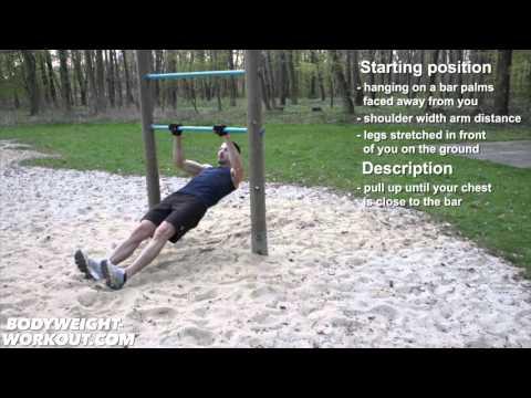 inclined pull ups bodyweight exercise madbarz exercises