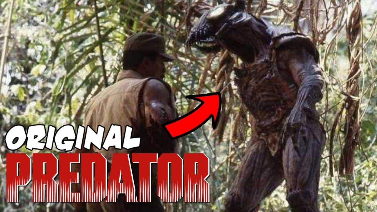 Unreal story of the ORIGINAL Predator (1987) Suit - YouTube