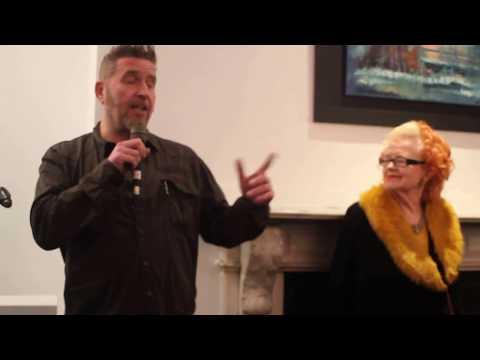 Rod Coyne solo show, Origin Gallery, Dublin, 8th March 2018.