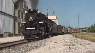 Awesome Sight, Sound, and Smoke: Chasing NKP 765