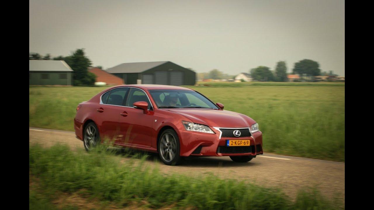 Lexus GS 450h F Sport Line 2013 review - YouTube