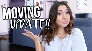 MOVING UPDATE!!! Where am I moving?!