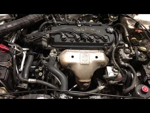 98 Accord engine swap idle surge problem solved