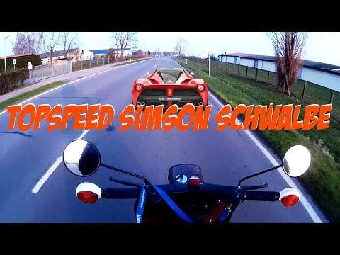 Original Simson M541 Motor  Topspeed von Kacki