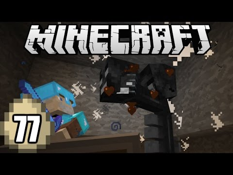 Minecraft Survival Indonesia - Melawan Boss Wither! (77)