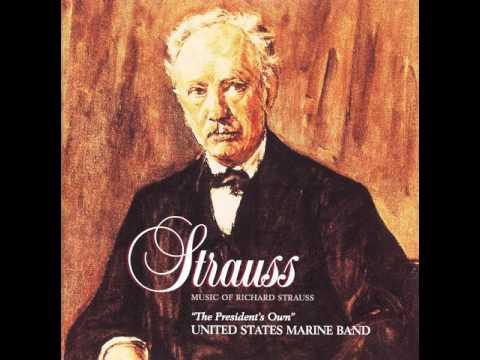 """STRAUSS Der Rosenkavalier Suite, Op. 59 - """"The President's Own"""" U.S. Marine Band"""