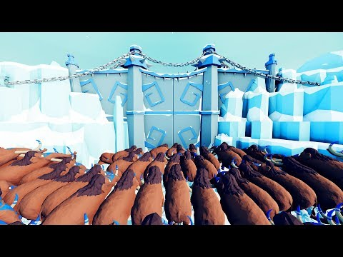 I Made it Behind the Giant Gate in TABS and I Regret Everything - Totally Accurate Battle Simulator