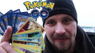 POKEMON GO TÄVLING | POKÉPACK CHALLENGE (40 st Pokémon kort)