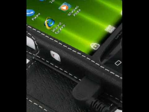 PDair Leather case for Acer beTouch E100/E101 - Book Type (Black)