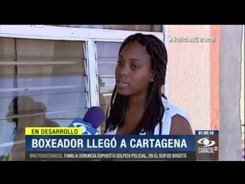 Boxeador José Carmona fue trasladado a hospital en Colombia y está consciente - 30 de Diciembre 2013