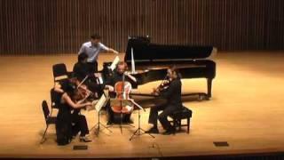 Brahms Piano Quintet, iii