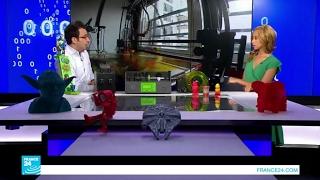 طابعة ثلاثية الأبعاد لإعادة تدوير النفايات المنزلية!!
