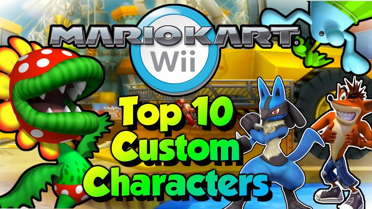 Top 10 Mario Kart Wii Custom Characters