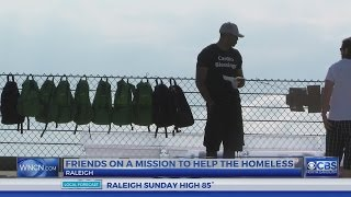 Soldier and Marine provide helping hand to Raleigh homeless