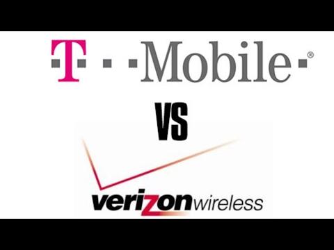 T-mobile vs Verizon LTE advanced speedtest ( consistency