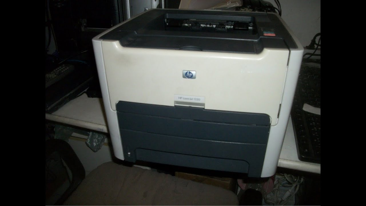 testing 2 laser printers hp laserjet 1320 youtube. Black Bedroom Furniture Sets. Home Design Ideas
