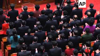 Party leader Hu Jintao steps down to clear way for new leader in China