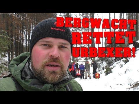 BERGWACHT RETTET URBEXER! | URBEXTREFFEN 2018