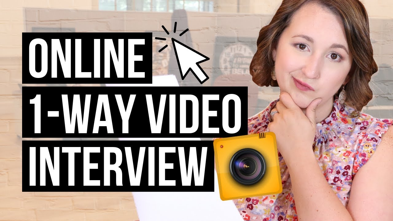 How To Prepare For A One-Way Video Interview