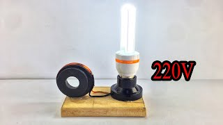 New Awesome Free Energy Generator Using Copper Wire 100% At Home