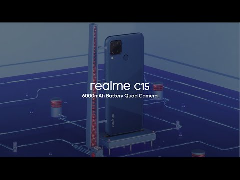 realme C15 | 6000mAh Battery Quad Camera