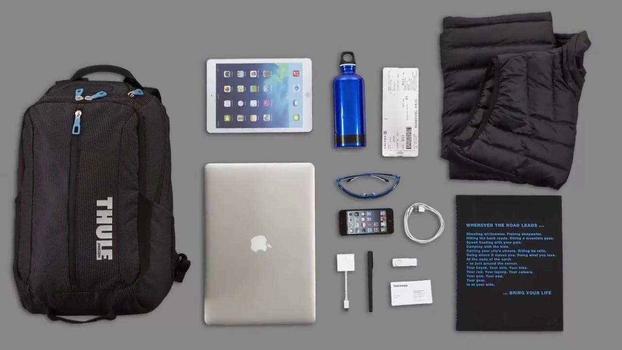 Thule Crossover hátizsák 25 Liter - Készüljön fel a munkahétre vagy a  hétvégi kalandokra 8bf0cfe893